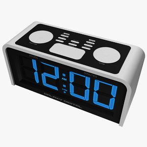 maya basic digital alarm clock