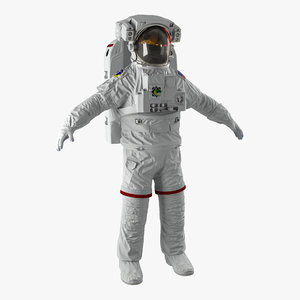 nasa space suit extravehicular 3d max
