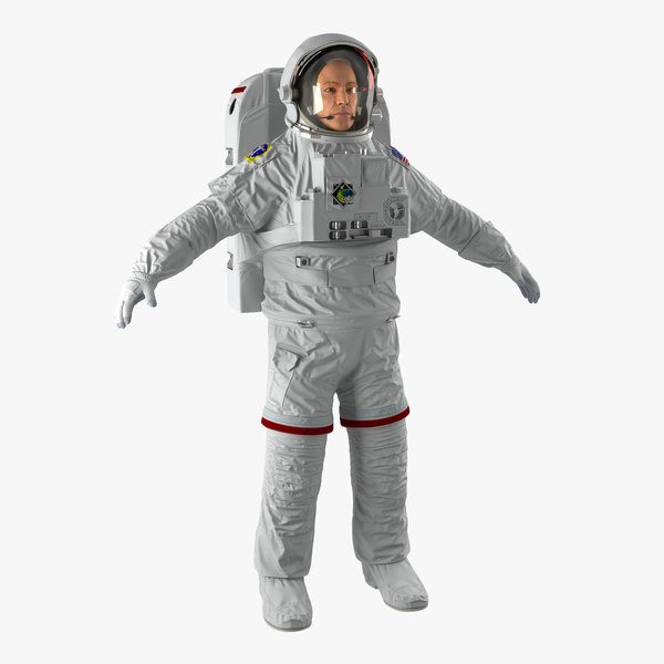 astronaut nasa extravehicular mobility 3ds