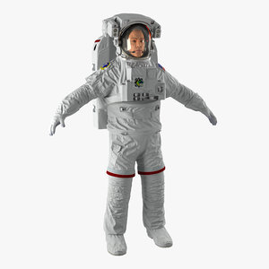 3dsmax astronaut nasa extravehicular mobility