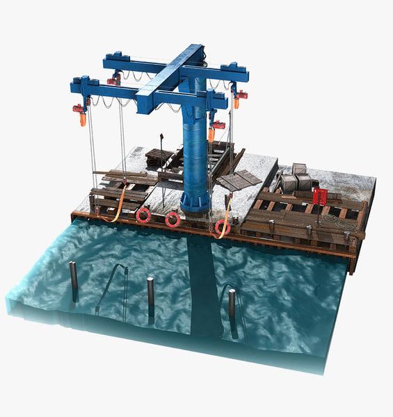 boat crane max
