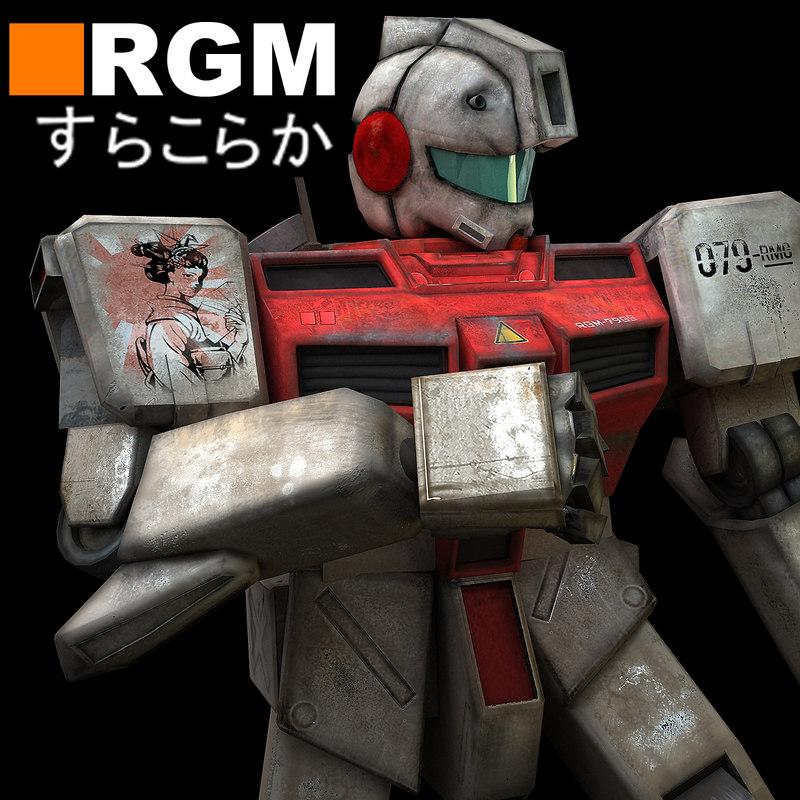 3d rgm robot model