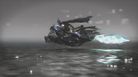 3ds max batmobile concept batman