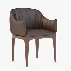 blossom armchair 3d model