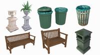dustbin trashcan 3d fbx