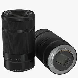 sony lens camera 3d 3ds