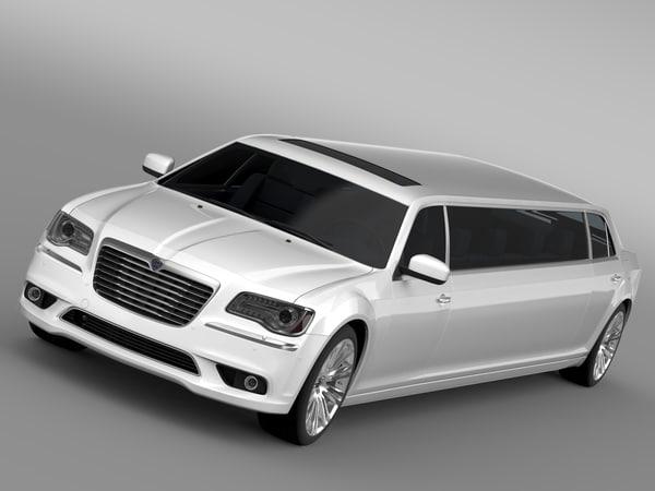 thema limousine 3d model