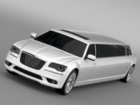 thema limousine 3d model