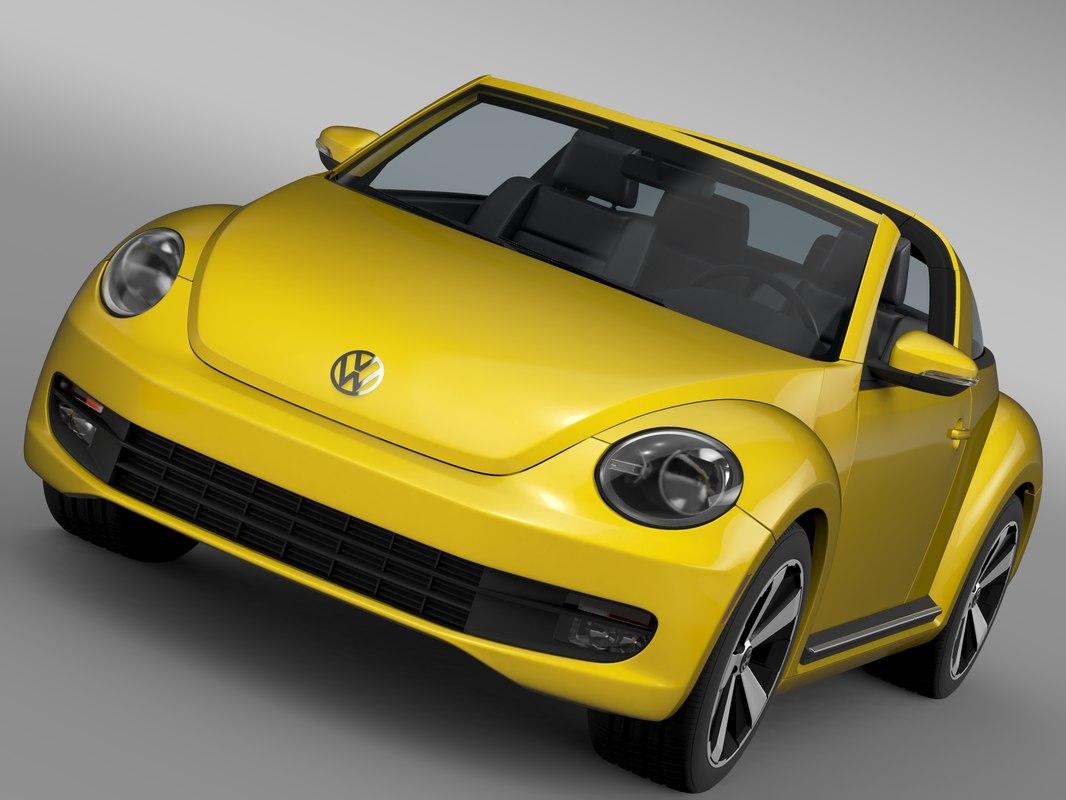 beetle targa 2016 3d 3ds