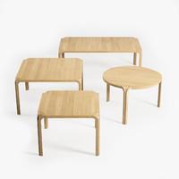 3d model artek table mx800