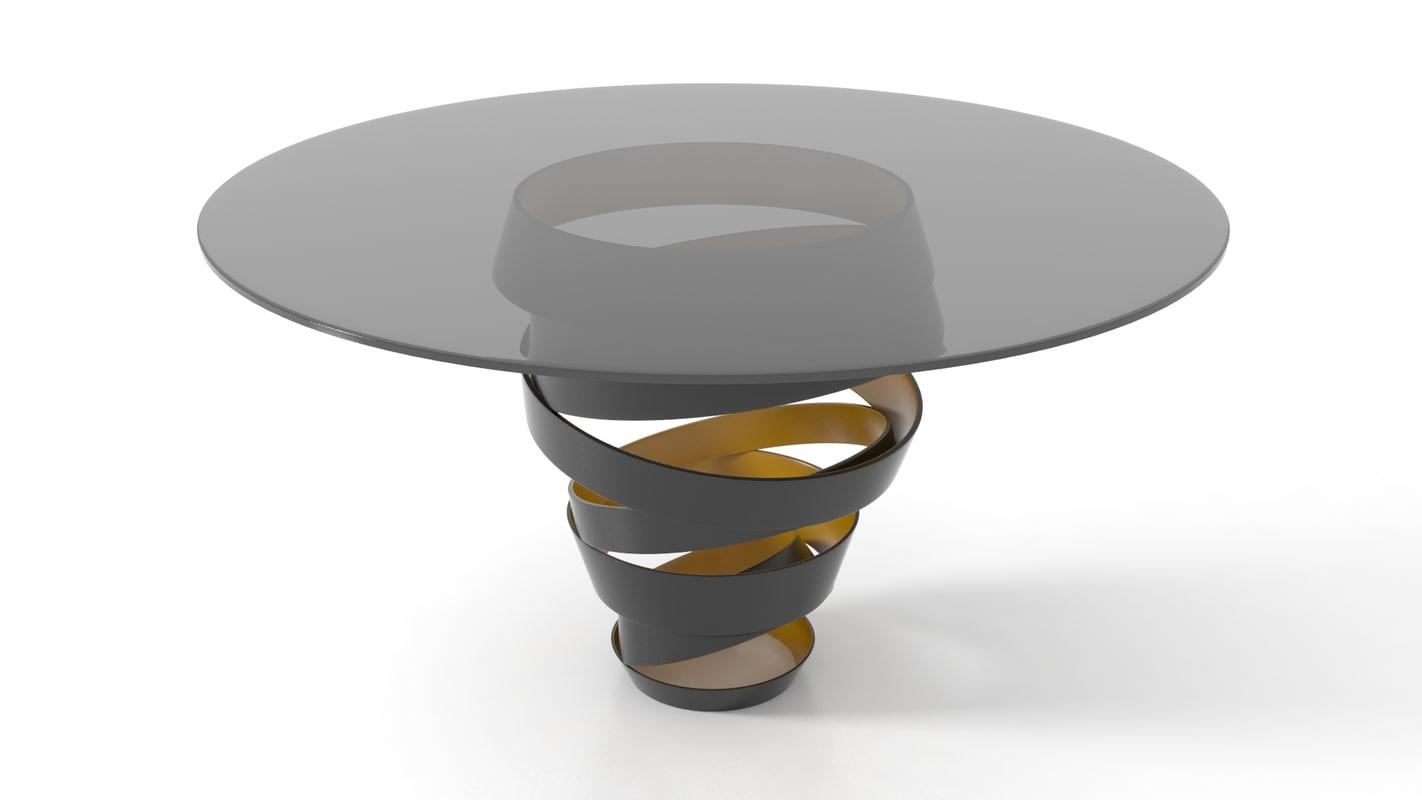 obj table glass