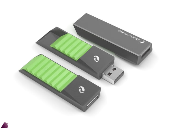 obj flash drive silicon