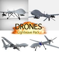 drone lightwave 3d lwo
