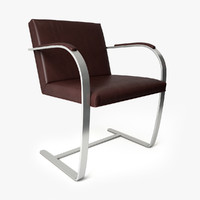 Knoll Brno Chair - Flat Bar
