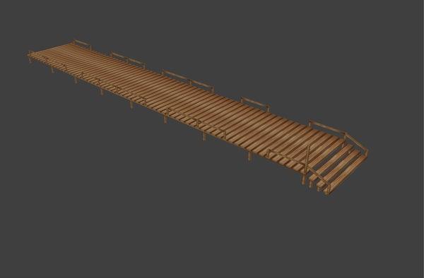 dock 3d model