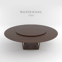 3ds max dining table tobu walter knoll