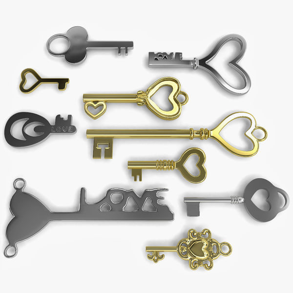 3d keys 10 love