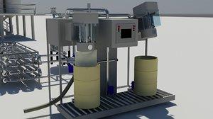 3ds filler plant equipment