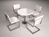 maya table chairs set