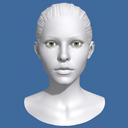 Woman Head Model
