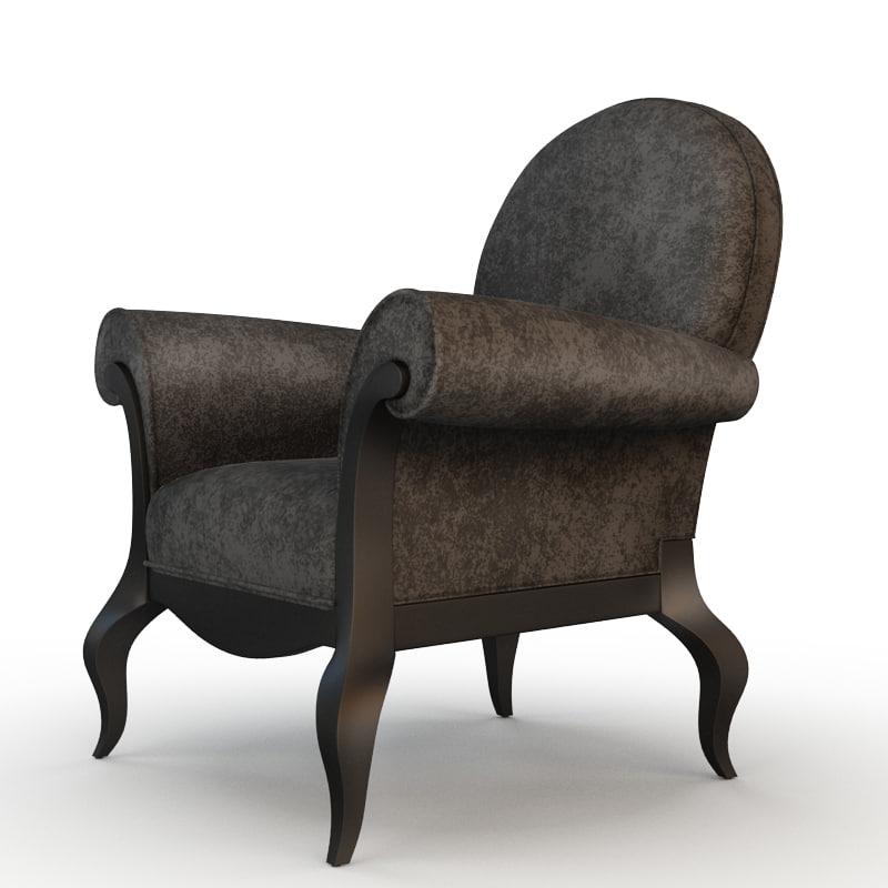chair armchair modern max