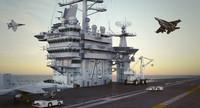 USS George Washington CVN 73 Collection
