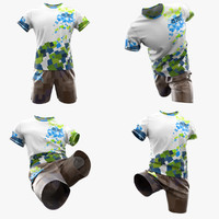 Tshirt and shorts custom designs