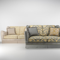 3d bruno zampa cameron sofa model
