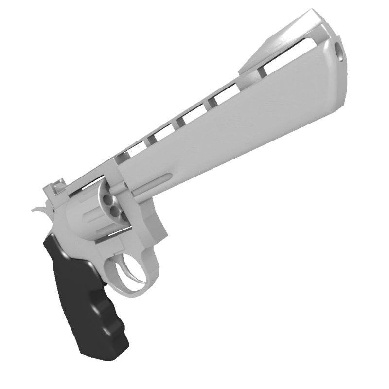 3d revolver