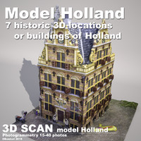DBuzzi 3D Scan Holland House