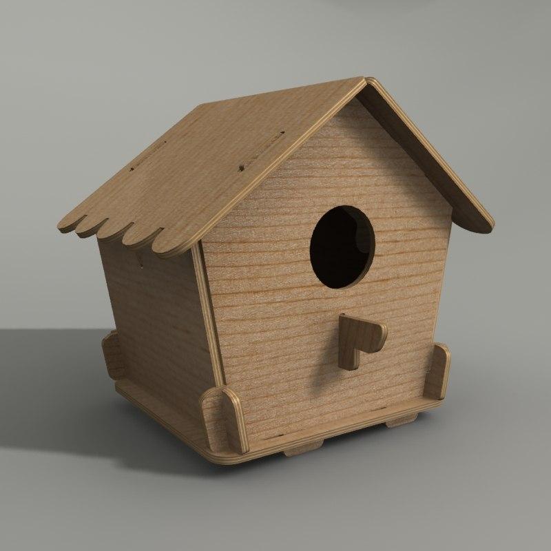 bird house 3d model