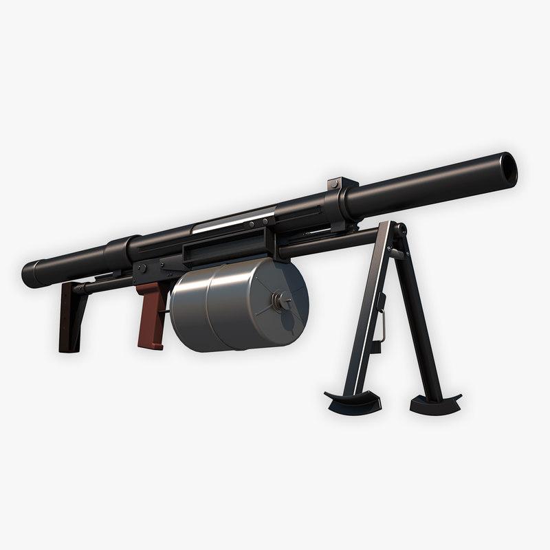 tkb-0249 crossbow grenade launcher max