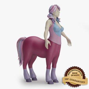 obj female centaur