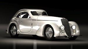 3d model alfa romeo touring 8c