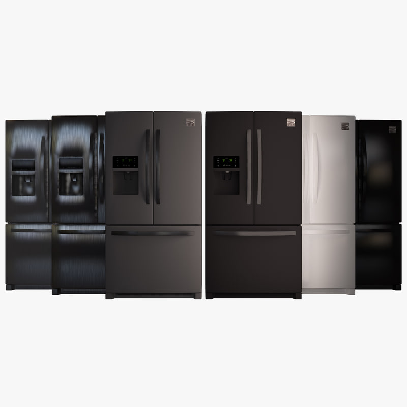 kenmore elite 22 cu 3d model