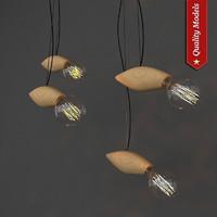 swarm lamp 3d model