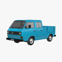 VW T3 Pickup Crew Cab