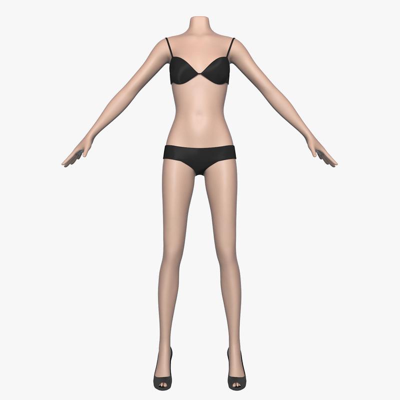 max women female bra panties