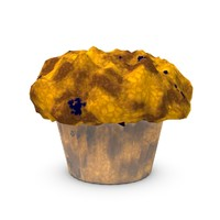 free muffin 3d model