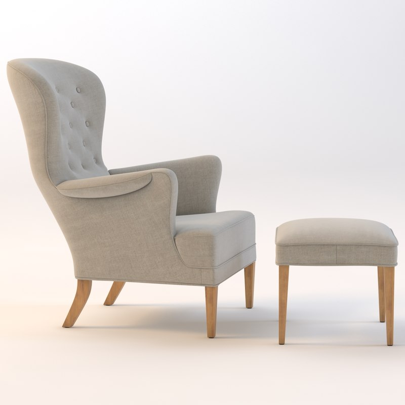 3d heritage chair
