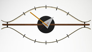 3ds nelson eye clock