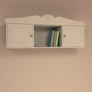 3d girls room cabinet