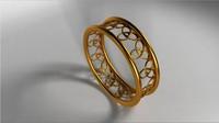 ma celtic ring lighting scene