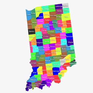 indiana counties 3d 3ds