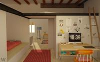 3d model loft