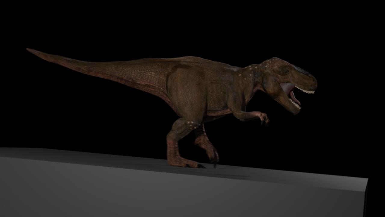 3ds max tyrannosaurus rex