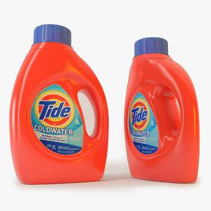 tide detergent 3d model