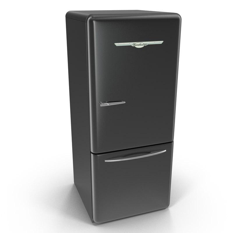 3d max retro refrigerator elmira northstar