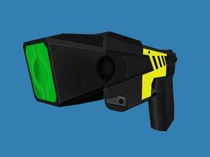 3d stun gun model