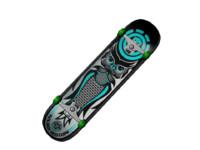 skateboard owl